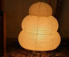 Isamu Noguchi AKARI 24N (plain) LED bulb (equivalent to E26-40W) Set floor lamp