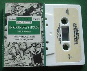 Philip Sendak In Grandpa's House Audio Book Caedmon Cassette Tape - TESTED
