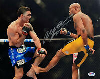 Anderson Silva Signed 11 x 14 UFC Photo Autographed PSA DNA COA ITP