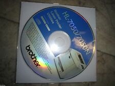New ! Genuine Brother HL7050 HL7050N Printer CD Software Drivers Utilities