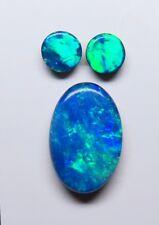 Doublet Opal 3 stone Assorted parcel Set Australian stone