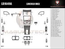 Fits Lincoln MKX 2011-2015 Large Premium Wood Dash Trim Kit