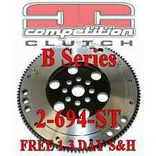 Competition Clutch 90-01 Integra 12.32lb Steel Flywheel B16A GSR B18C B20B B18B