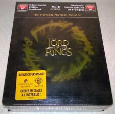 The Lord of the Rings Trilogy (2010, Canada) Futureshop Exclusive Steelbook NEW