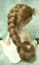 "Playhouse Doll Wig ""Skyler"" Size 8-9 Auburn - long French Braid & Tendrils #2"