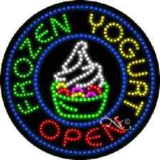 Frozen Yogurt - Open High Impact, Eye-Catching Led Sign
