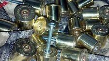 Montana made 12 gauge shotgun rifle shell brass bullet drawer pulls. Pack of 3