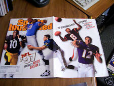 Sports Illustrated 1997 AFC Central Quarterback Cover