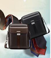 Mens Business Bag+Wallets Leather Messenger Shoulder Briefcase Satchel Crossbody