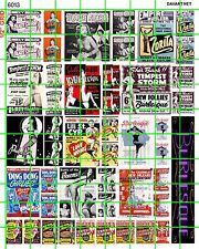 6013 DAVES DECALS 50'S BURLESQUE ADULT STRIP CLUB BLAZE STARR TEMPEST STORM NUDE