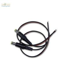 DC Conector HUECO 5.5 x 2.1 , 30cm Cable Conector Pack Doble Enchufe Conector