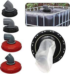 IBC Lid Filter Washable For Water Tank Rain Water Washable Corner 45° 90°