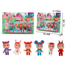6Pcs/set Cry Babies Magic Tears Action Figures Kids Girls Toys Birthday Gift