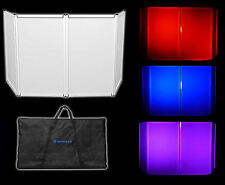 Rockville RFAAW DJ Event Facade Light Weight Metal Frame Booth+Travel Bag+Scrim