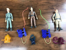 Vintage Kenner The Real Ghostbusters Lot Peter Egon Ray 1984 1986 Authentic