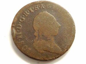 """1780-B Austrian One (1) Kreutzer """"Joseph ll"""" Coin"""