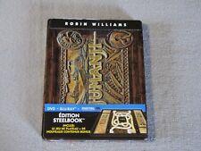 JUMANJI Steelbook Blu-ray Edition Limitée inclus Jeu de Plateau (Robin Williams)