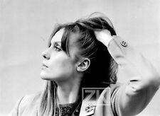 FRANCOISE DORLEAC candid BONNOTTE Profil Portrait Photo 1960s