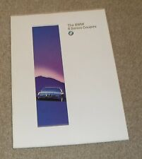 BMW 8 Series Coupe Brochure 1996 - 840 CI & 850 CSI