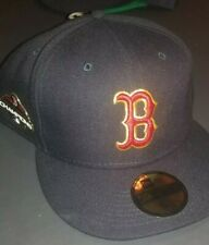 Boston Red Sox New Era 59Fifty 2018 World Series Champions Fitted Hat Gold 8 1/4