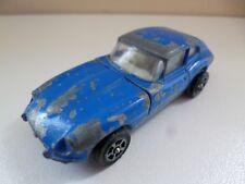 2+2 E Type Jaguar -  Blue - Corgi - GT Britain