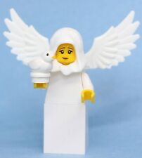 Lego Female Angel with bird dove Bible God Christmas Custom Minifigure NEW
