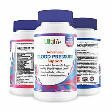 BEST HIGH BLOOD PRESSURE PILLS to Lower BP Naturally w/ Potent ... Free Shipping