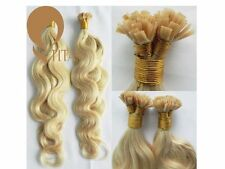 Classic Bonded Wavy Human Hair Extensions