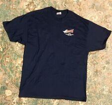 ANAHEIM ANGELS 2000 Area Code Team XL T- Shirt DARK BLUE