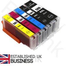 Ink Cartridges for Canon Pixma TS6250 TS6251 - Multipack Set of 5 XXL Size Inks