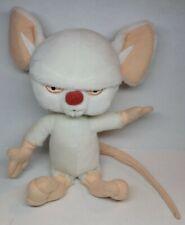 "Animaniacs Pinky and the Brain 10"" Plush Figure Warner Bros. 1996"