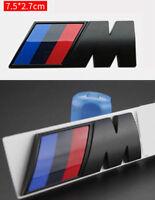 M Emblema Logo 3D M für Performance POWER Black ABS 75mm New