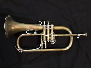 Bugle Couesnon Monopole - a flugelhorn who was sleeping in a attic since 1956