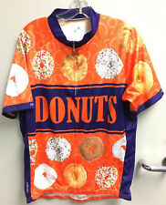 Primal Wear Donuts Cycling Team Jersey Mens Short Sleeve Bicycle Great Condition