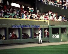 Donn Pall Signing for Fans Comiskey Park LF Picnic Area 1990 Color 8x10 P