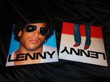 Lenny Kravitz *Five Two-Sided Lenny 2001 Cardboard Poster Flats!
