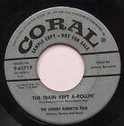 Johnny Burnette Trio 45 The Train Kept A-Rollin PROMO