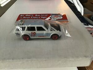 2019 Collectors Nationals Hot Wheels Newsletter '71 Datsun Bluebird Wagon White!