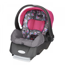 Infant Car Seat Rear Facing Fully Adjustable Monument 4-35 Lb Baby Support Gray