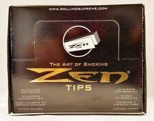 25 Packs Zen Filter Rolling Paper Tips 50 per Pack The Art of Smoking Ship