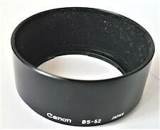 Canon Lens Hood BS-52 for New FD NFD 50mm f/1.8 f/1.4 f/1.2 etc...