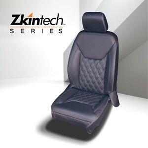 Lederausstattung / Sitzbezüge / Lederkit schwarz mit hellen Nähten - Wrangler