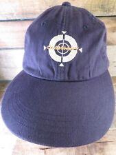 c6c9a1bae18 OLD NAVY Blue Target Adjustable Adult Cap Hat