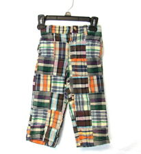Baby Gap Boys Plaid Multi Color Pants Size 2 Years