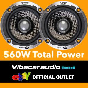 Vibe BlackAir 3C-V6B Black Edition 2-Way Concentric Component Speaker 560W Total