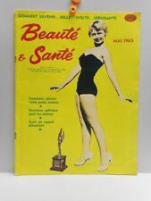 "Vintage - ""Beaute & Sante"" - French Women's Fitness & Health Magazine - 1963"