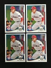 (4) JIM ADDUCI ROOKIES TOPPS 2014 TEXAS RANGERS RC BASEBALL CARDS