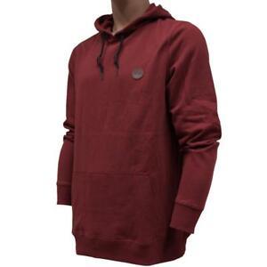 Oakley Langley Hoodie Mens Size L Large Fired Brick Fleece Hooded Jumper Sweater