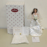 Ashton Drake Princess Catherine Royal Elegance Bride Porcelain Doll w/ Box & CoA