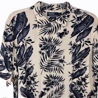 Polo Ralph Lauren Hawaiian Button Up Shirt Clayton Large Mens Aloha Camp Floral